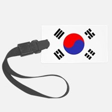 Flag South Korea Luggage Tag
