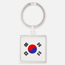 Flag South Korea Keychains