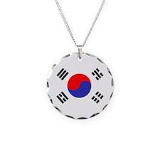 Flag South Korea Necklace