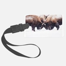 Buffaloes Luggage Tag
