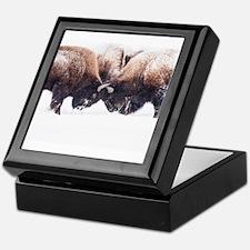 Buffaloes Keepsake Box