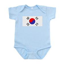 Flag South Korea Body Suit