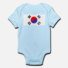 Flag South Korea Body Suit