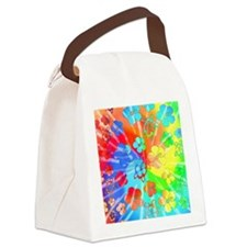 Tie Dyed Honu Canvas Lunch Bag
