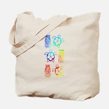 Tropical Honu And Tiki Tote Bag