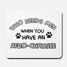 afro-chausie designs Mousepad