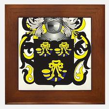 Thurston Family Crest (Coat of Arms) Framed Tile