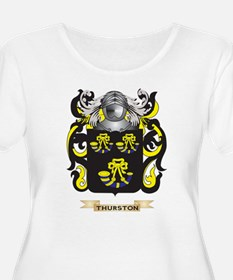 Thurston Family Crest (Coat of Arms) Plus Size T-S