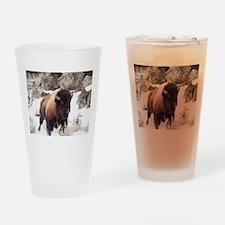 Buffalo Drinking Glass