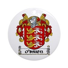 O'Brien Coat of Arms Ornament (Round)