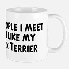 Smooth Fox Terrier: people I  Mug