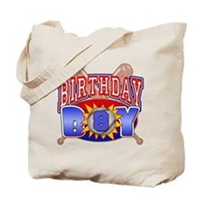 Baseball 8th Birthday Tote Bag