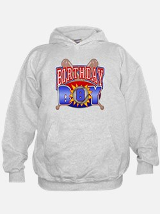 Baseball 8th Birthday Hoodie