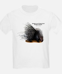 African Crested Porcupine T-Shirt