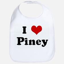 I Love Piney Bib