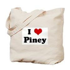 I Love Piney Tote Bag