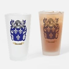 Tillmon Family Crest (Coat of Arms) Drinking Glass