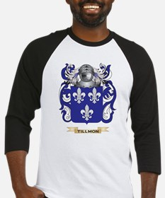 Tillmon Family Crest (Coat of Arms) Baseball Jerse
