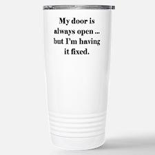 Open Door Policy Travel Mug