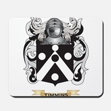 Timmins Family Crest (Coat of Arms) Mousepad