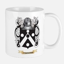 Timmins Family Crest (Coat of Arms) Mugs