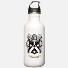 Timmins Family Crest (Coat of Arms) Water Bottle