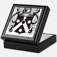 Timmins Family Crest (Coat of Arms) Keepsake Box
