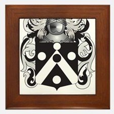 Timmins Family Crest (Coat of Arms) Framed Tile