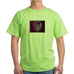 Purple Face Green T-Shirt