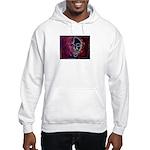 Purple Face Hooded Sweatshirt