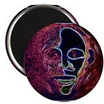 Purple Face Magnet