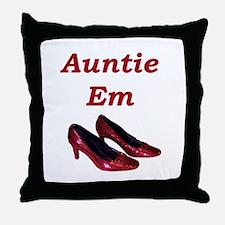 Cute Auntie Throw Pillow