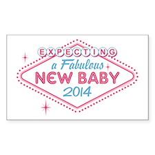 Las Vegas Expecting 2014 Decal