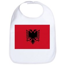 Albanian Flag Bib