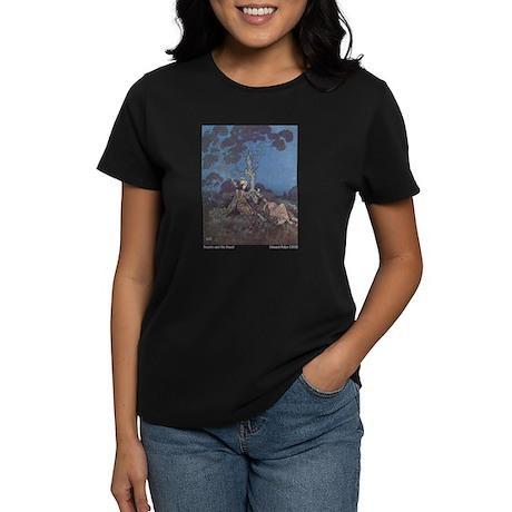 Dulac's Beauty & the Beast Women's Dark T-Shirt