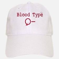 Blood Type O- Baseball Baseball Baseball Cap
