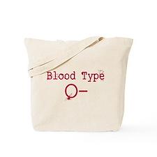 Blood Type O- Tote Bag