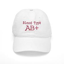 Blood Type AB+ Baseball Baseball Cap