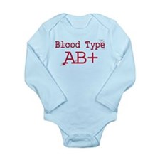 Blood Type AB+ Body Suit