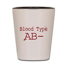 Blood Type AB- Shot Glass