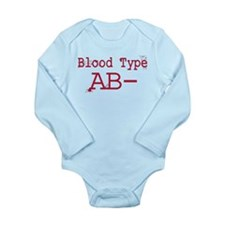 Blood Type AB- Body Suit