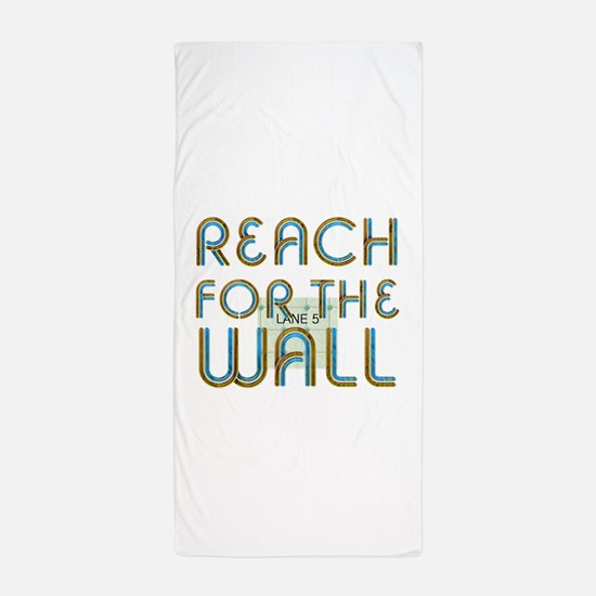 Swim Slogan Beach Towel