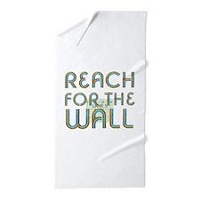Swim Slogan Teepossible.com Beach Towel