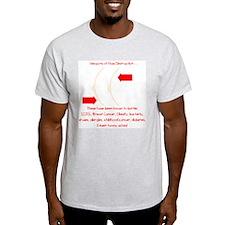 Weapons of Mass Destruction Ash Grey T-Shirt