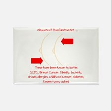 Weapons of Mass Destruction Rectangle Magnet (10 p