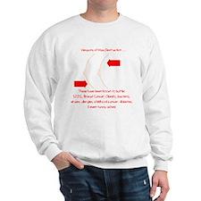 Weapons of Mass Destruction Sweatshirt