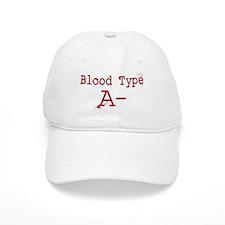 Blood Type A- Baseball Baseball Cap