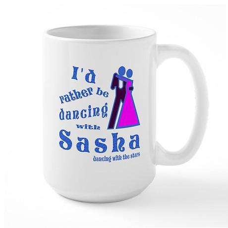 Dancing With Sasha Large Mug