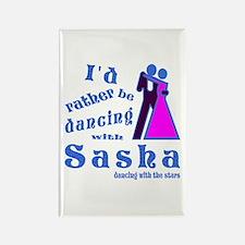 Dancing With Sasha Rectangle Magnet