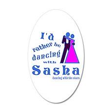 Dancing With Sasha Wall Decal